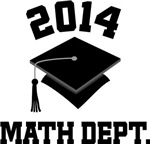 Math Dept 2014 Graduation Gifts