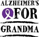 Alzheimers For Grandma support design