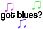 Colorful Got Blues Music T-shirts and Hoodies