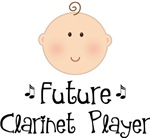 Future Clarinet Player T-shirts For Kids