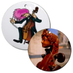 Cello Christmas Keepsake Ornaments for Cellists