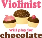 Violinist Will Play For Chocolate Gifts