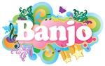 Retro Banjo Music Gifts