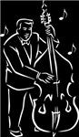 Blues Music Bass Player T-shirts