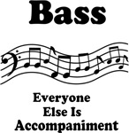 Funny Bass T-shirt and Gifts