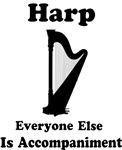 Funny Harp T-shirt and Gifts