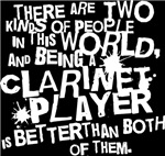 Funny Clarinet T-shirts and Gifts