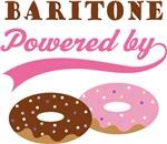 BARITONE POWERED BY DONUTS T-shirts