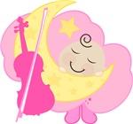 Violin Baby Music Clothing