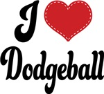 I Heart Dodgeball T-shirts and Gifts
