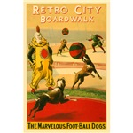 The Marvelous Foot-Ball Dogs