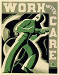 Work With Care WPA Poster