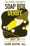 Soap Box Derby WPA Poster