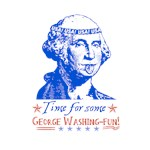 4th of July George Washington
