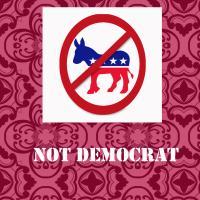 Not Democrat