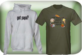 Papa Gifts and T-Shirts