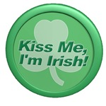 Kiss Me, I'm Irish! Shamrock
