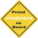 Proud Grandmama on Board