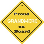 Proud Grandmere on Board