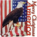Patriotic, Merry Christmas America Apparel & Gifts