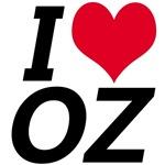 I Love Oz t-shirts!