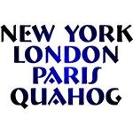 New York, London, Paris Quahog t-shirts!