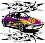 Sportscar 60th Birthday gifts.