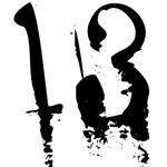 13th Birthday Gifts, Grunge 13!!