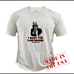 Uncle Sam Fire Congress T-Shirts