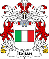 Italian Last Name Coats of Arms