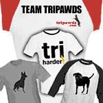 Tripawds T-shirts and Apparel