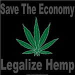 Save The Economy Legalize Hemp Tshirts