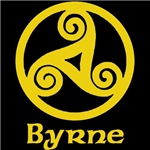 Byrne Celtic Knot (Gold)