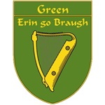 Green 1798 Harp Shield