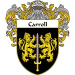 Carroll Coat of Arms (Mantled)