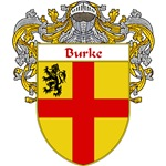 Burke Coat of Arms (Mantled)