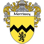 Morrissey Coat of Arms (Mantled)
