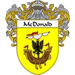 McDonald Coat of Arms (Mantled)