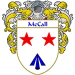 McCall Coat of Arms (Mantled)