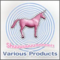 Shuuuunnn! Pink unicorn!