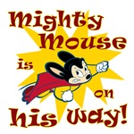 Mighty Mouse Is On His Way Yellow Splat