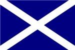 Scottish Flag Licence Plate framee