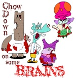Chow Down on some Brains