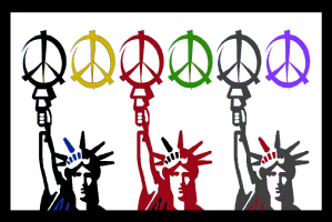 PEACE & LIBERTY