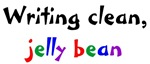 Writing clean, jelly bean