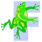 F is for Frog T-shirts & Gifts