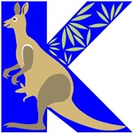 K is for Kangaroo T-shirts & Gifts