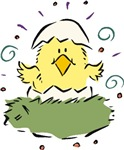 Just Hatched Easter Chick T-shirts & Gifts