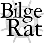 Bilge Rat Pirate Caribbean T-shirts and Gifts