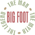 Big Foot the Man the Myth the Legend T-shirts Gift
